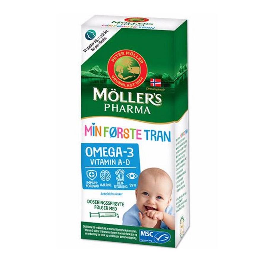 Рыбий жир Moller's Pharma Min Forste Tran.