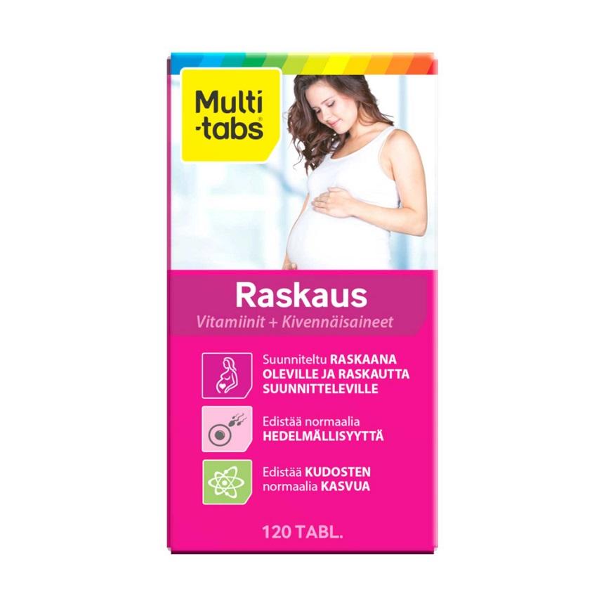 капсулы Multi-Tabs Raskaus Omega 3