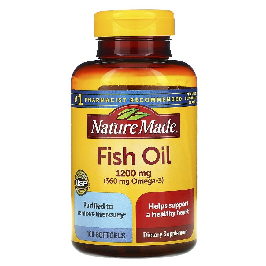 Рыбий жир Nature Made Fish Oil Omega 3