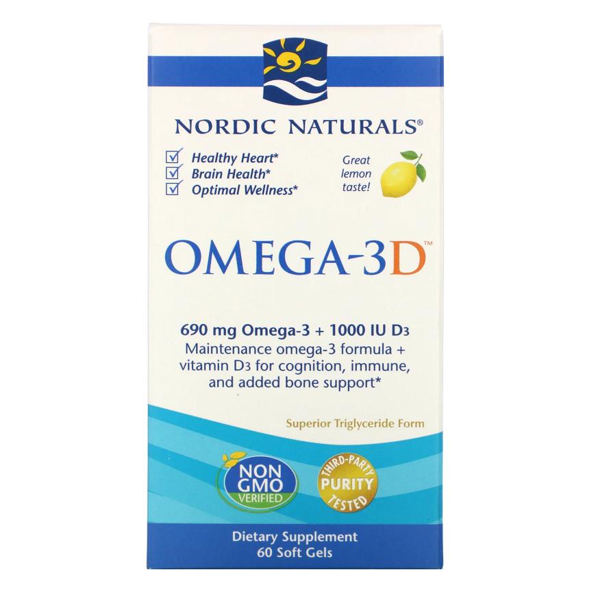Препарат Nordic Naturals Omega-3D