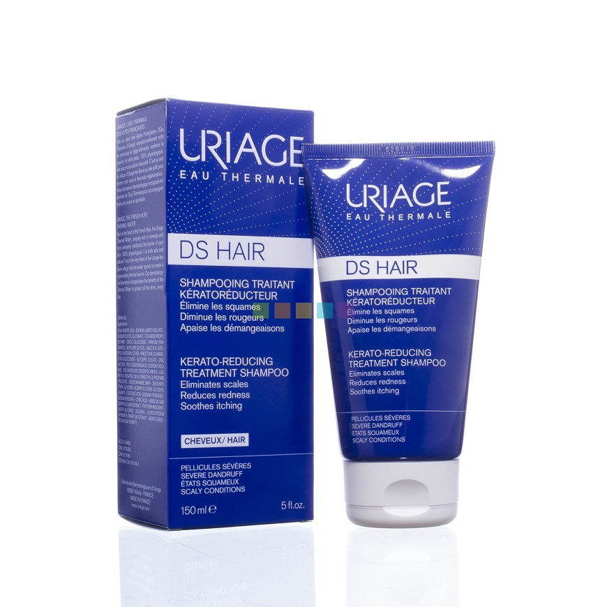 Uriage DS Hair Shampooing Traitant Antipelliculaire