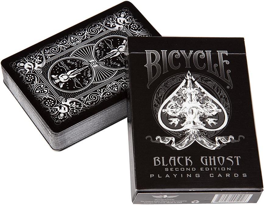 Bicycle Black Ghost  одна из популярных дизайнерских колод в мире