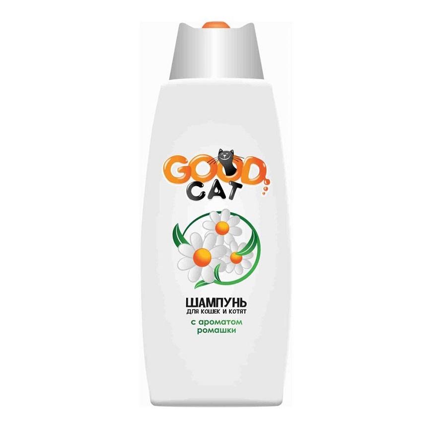 Favorite Шампунь для кошек и котят с ароматом ромашки GOOD САТ доступный