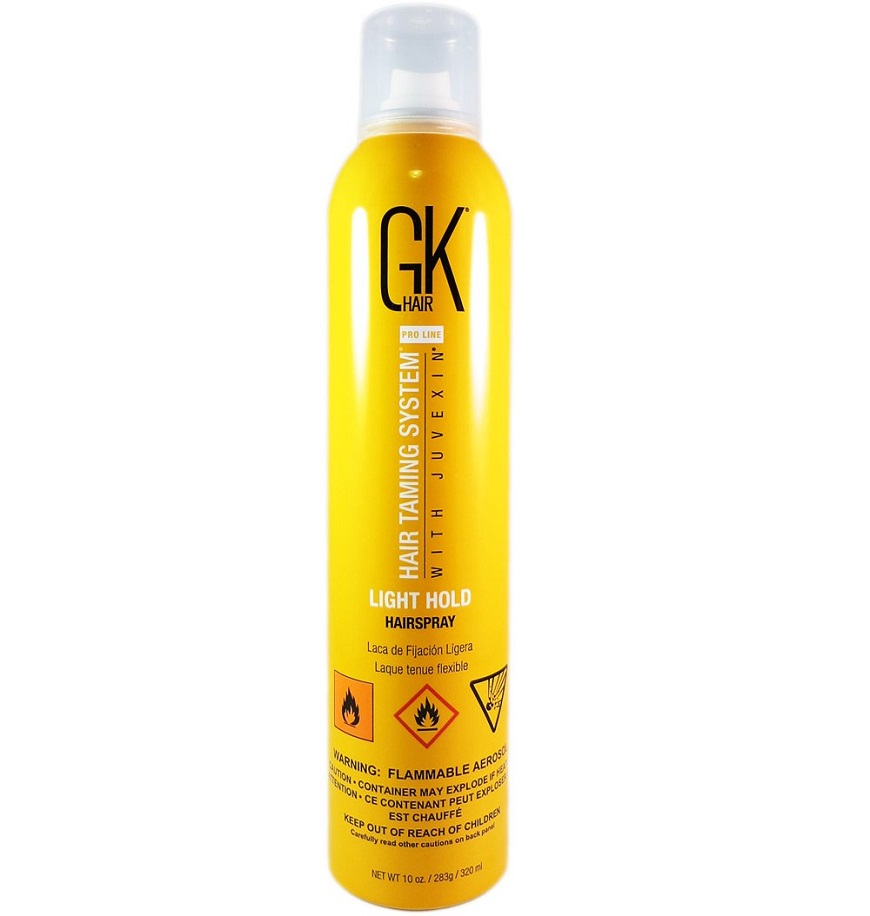 лак для волос Global Keratin Hair Spray Light Hold