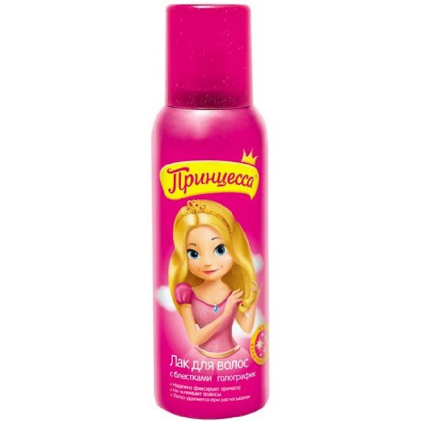 Принцесса детский лак для волос