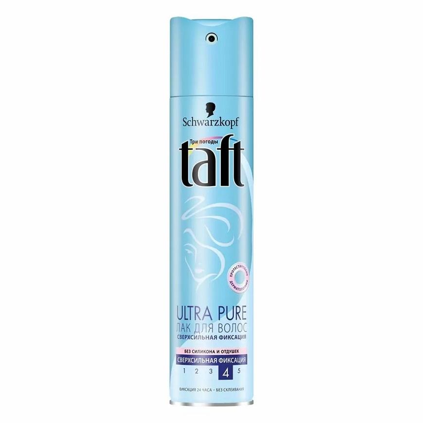 Taft Ultra pure лак для волос