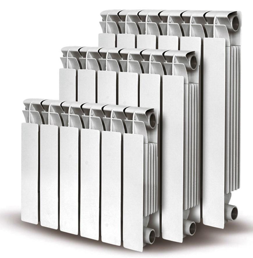 алюминиевые радиаторы разного размера