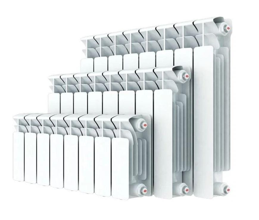 биметаллические радиаторы разного размера