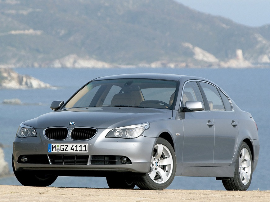 удобный BMW 5