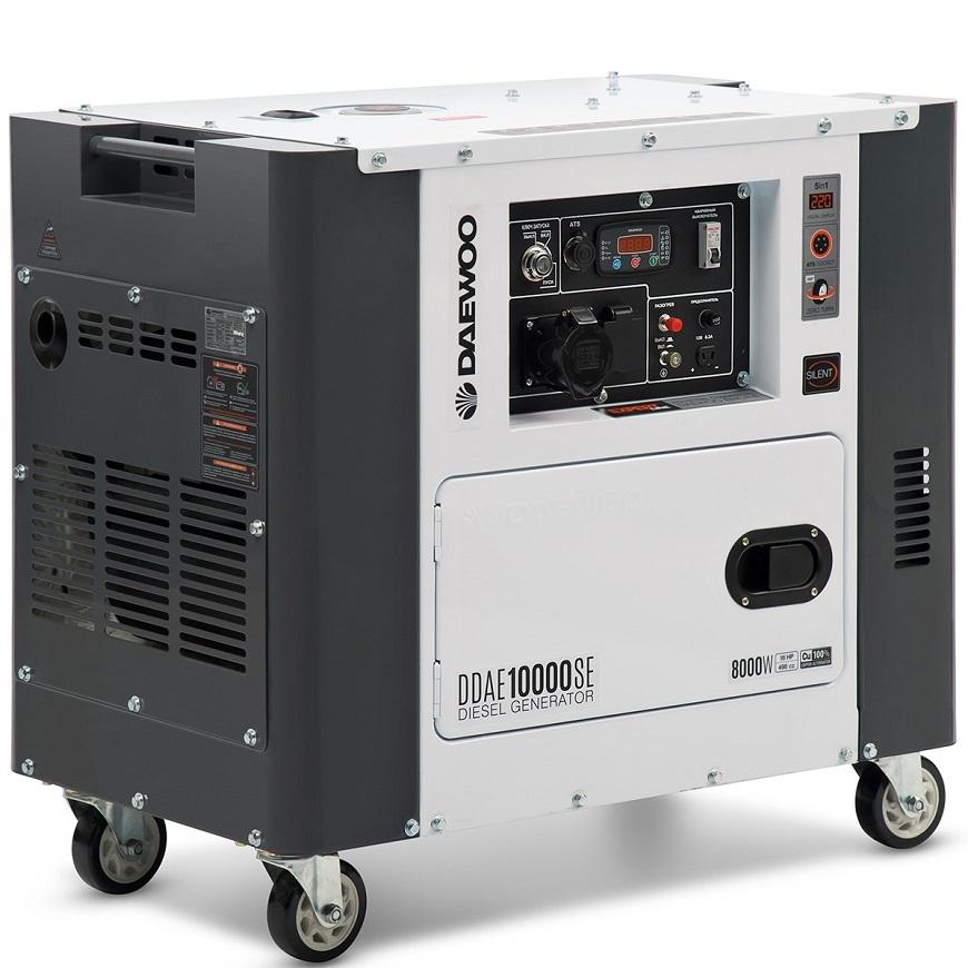 Daewoo Power Products DDAE 9000SSE с электрическим пуском