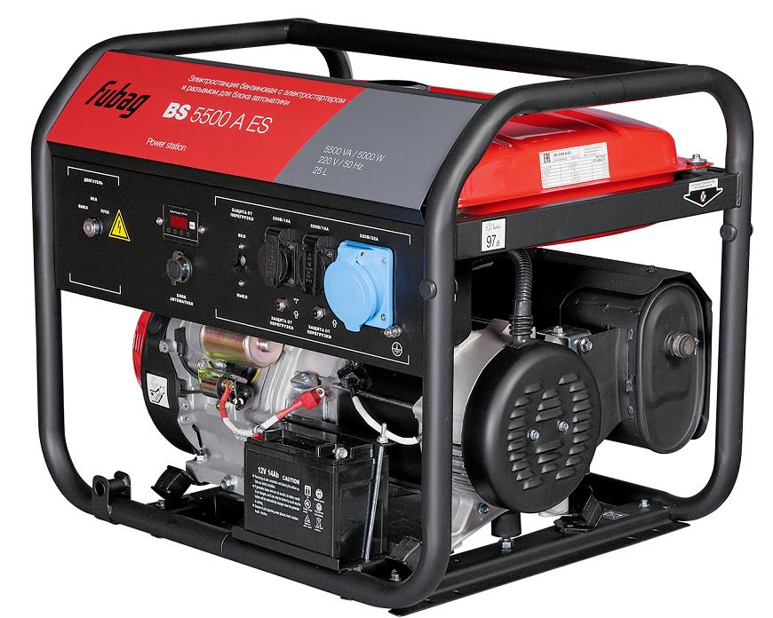 Fubag DS 5500 A ES  с электрическим и ручным пуском