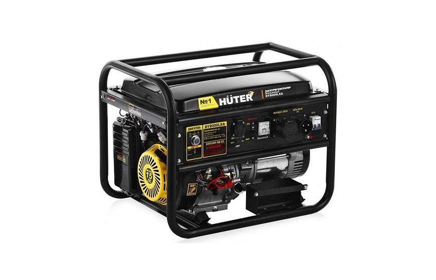 Huter DY8000LXA Бензиновый генератор