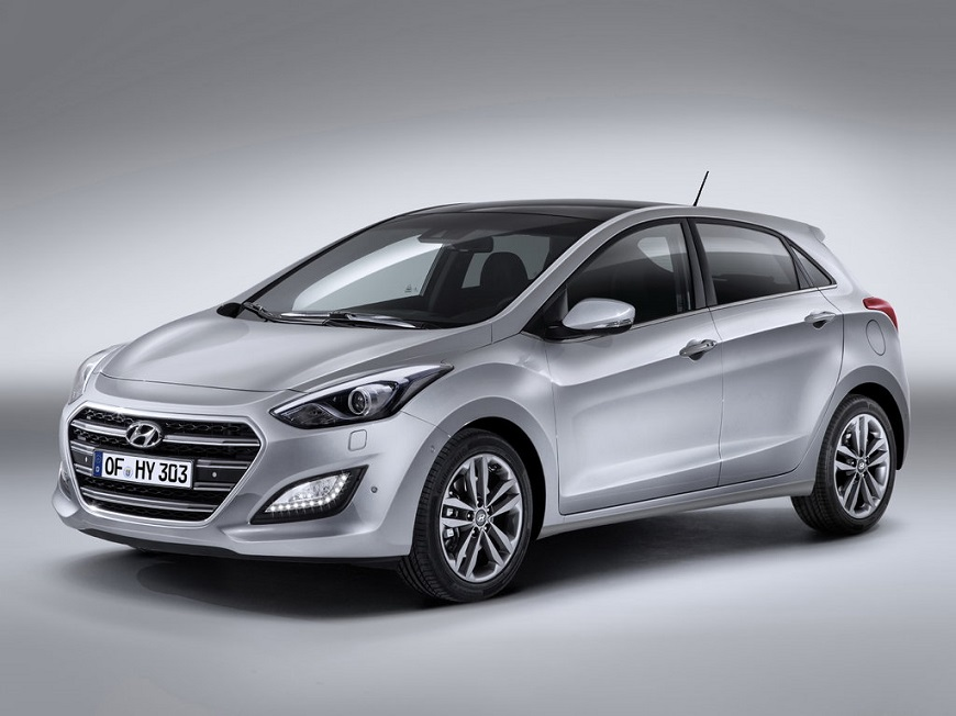 Hyundai i30  с хорошими ходовыми характеристиками