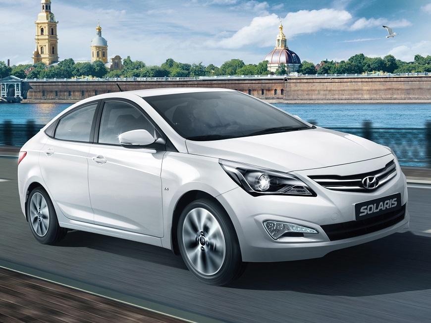 Hyundai Solaris  с элегантным дизайном