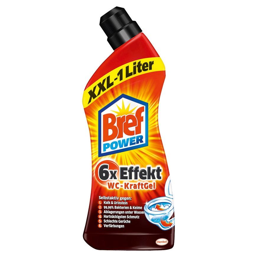 Bref Power Gel 6 в 1 На основе муравьиной кислоты.