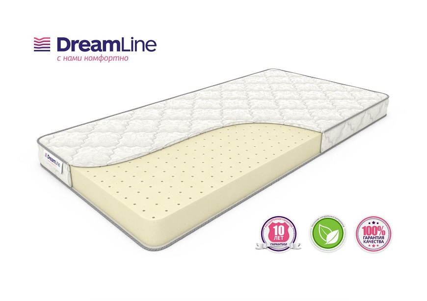 Dreamline Soft Slim 80х200 из перфорированного латекса