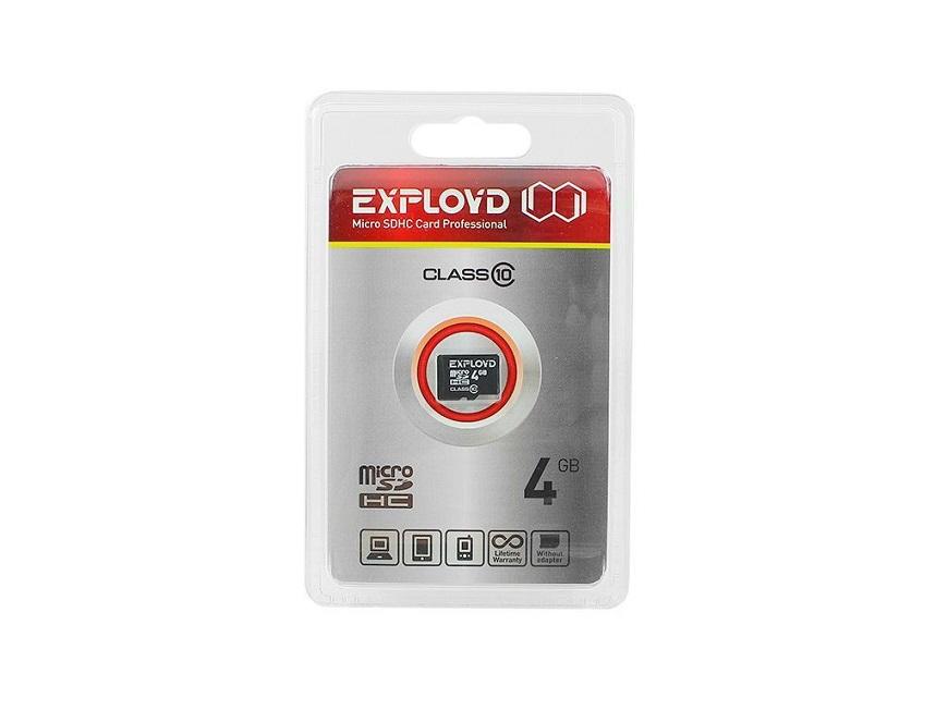 EXPLOYD microSDHC Class 10 ничем не выдающийся продукт