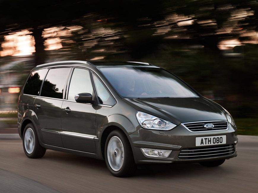 Ford Galaxy для большой семьи