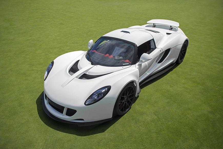 Hennessey Venom GT автомобиль американского производства.