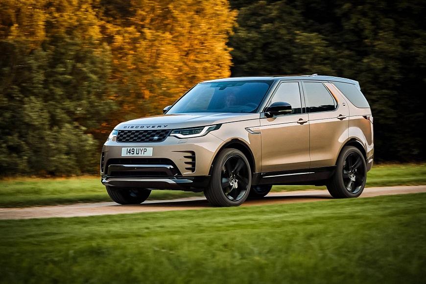 Land Rover Discovery агрессивный дизайн