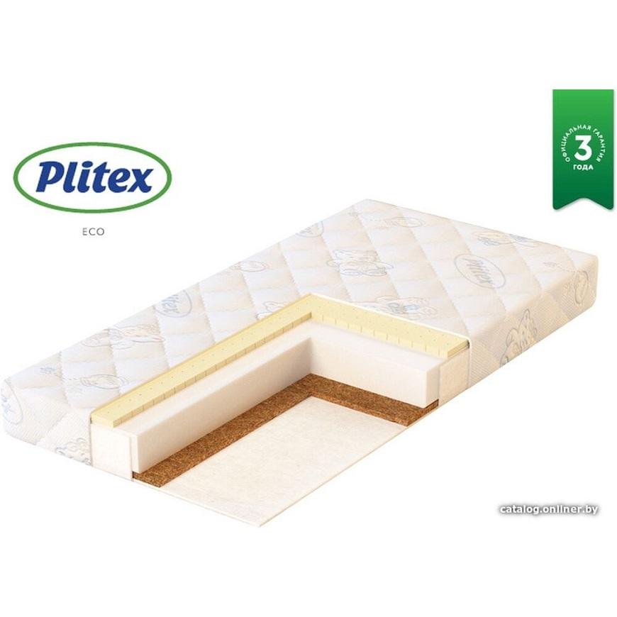 Plitex Eco Life 60x11 Матрас двусторонний