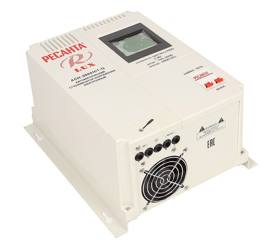 стабилизатор напряжения РЕСАНТА LUX АСН-5000Н/1-Ц (5 кВт)