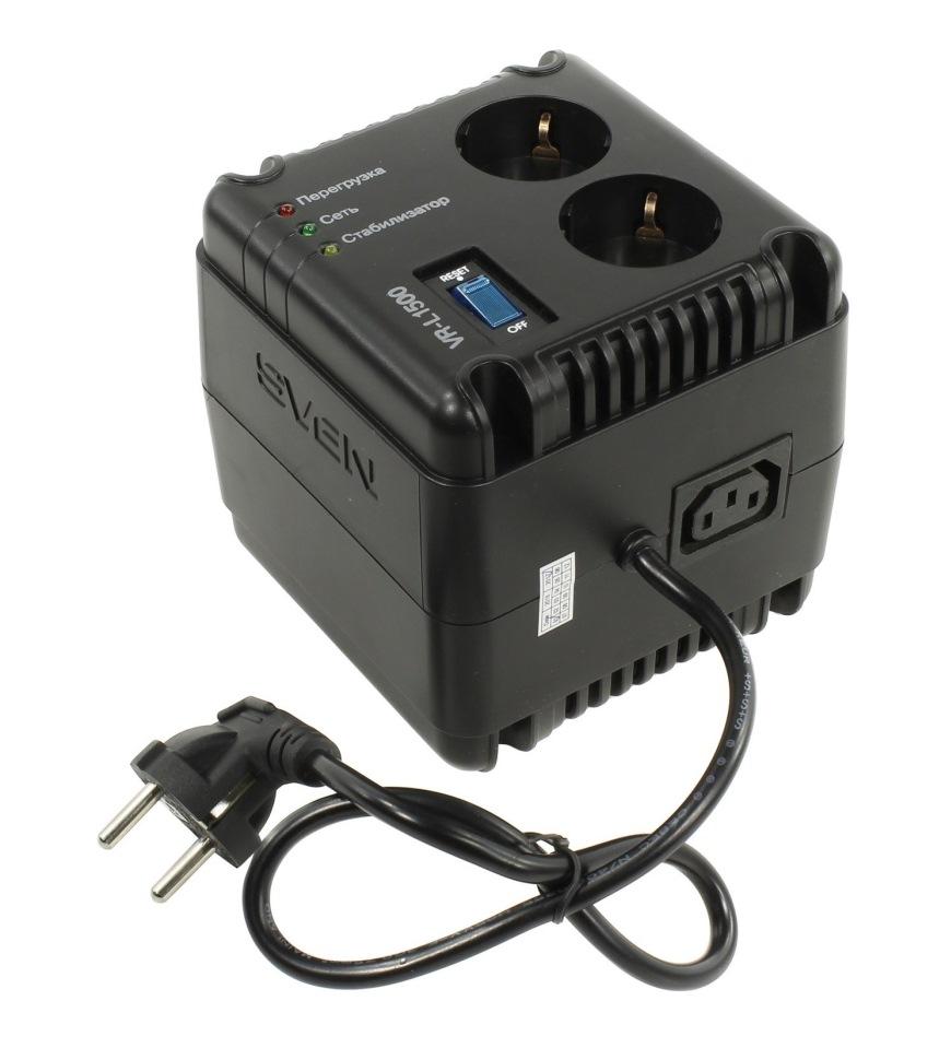 стабилизатор напряжения SVEN VR-L1500 (0.5 кВт)