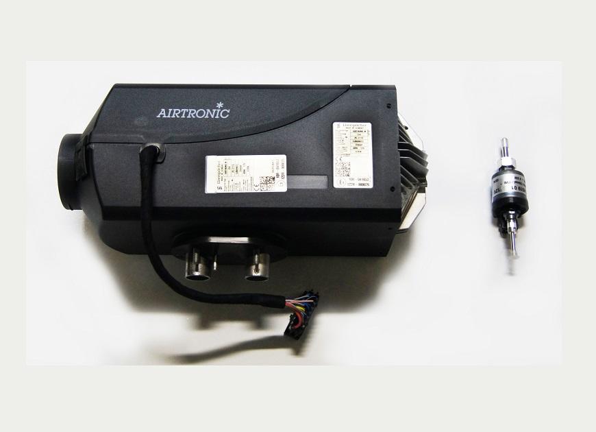 Eberspacher Airtronic M D4 25.2113.05.0000 вместе с установочным комплектом