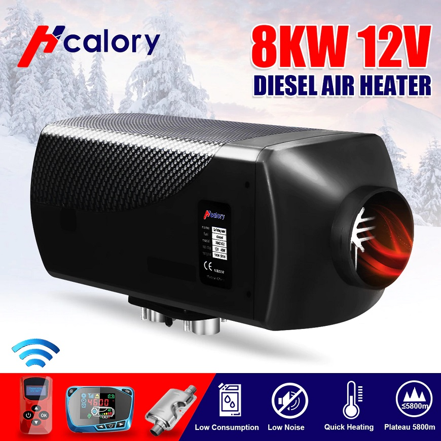 Hcalory Diesel Air Heater  рекомендованный для установки в грузовиках