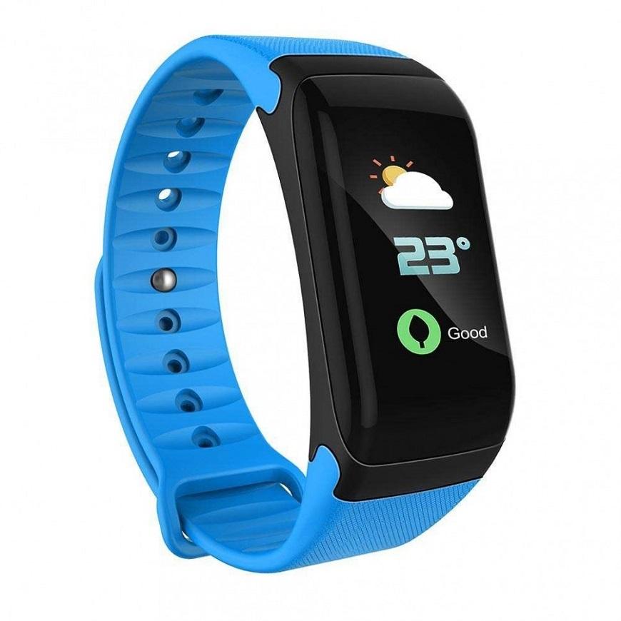 Smart Bracelet F1 умные часы со встроенным пульсометром
