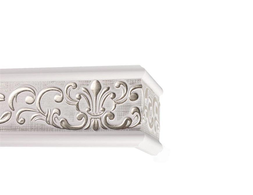 Прованс бело-серебряный изящная модель