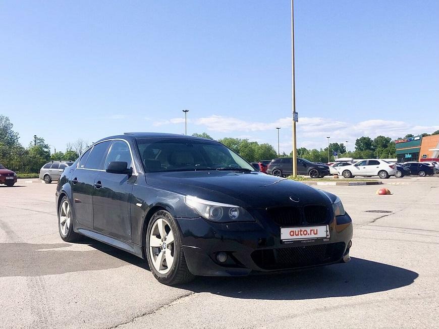 BMW 5 автомобиль