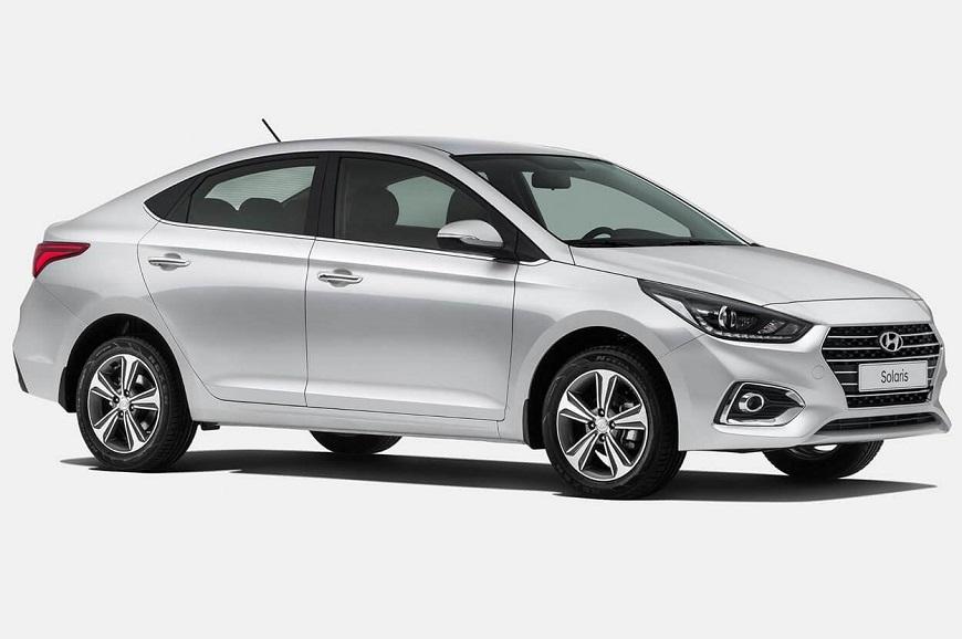 востребованный  Hyundai Solaris