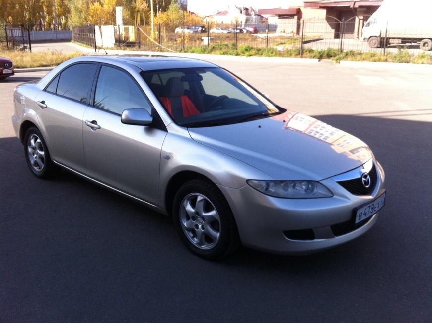 Mazda 6 седан прост и надёжен