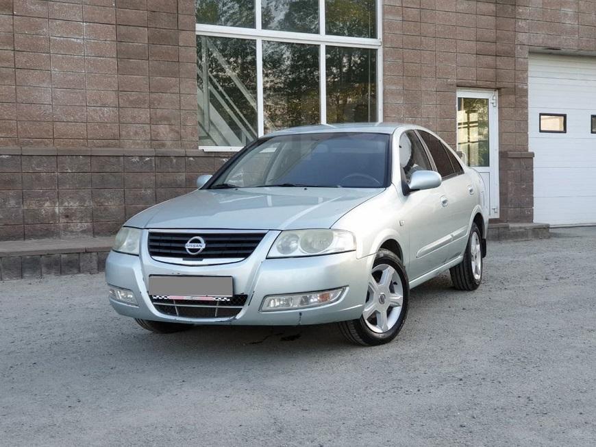 Nissan Almera солидный внешний вид
