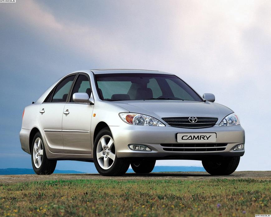 Toyota Camry оснащена агрегатом объемом 2.4 л