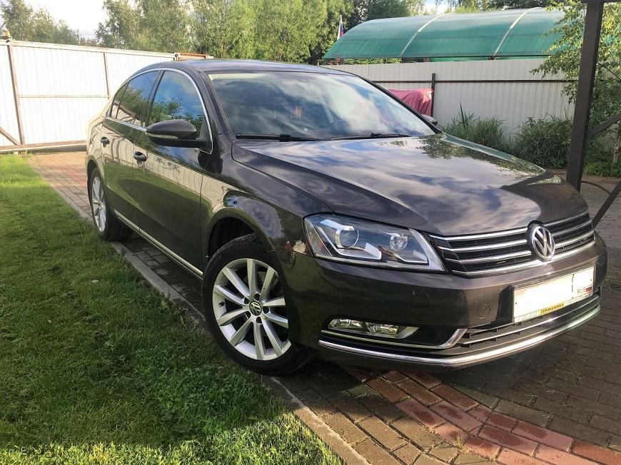 актуальный Volkswagen Passat B7