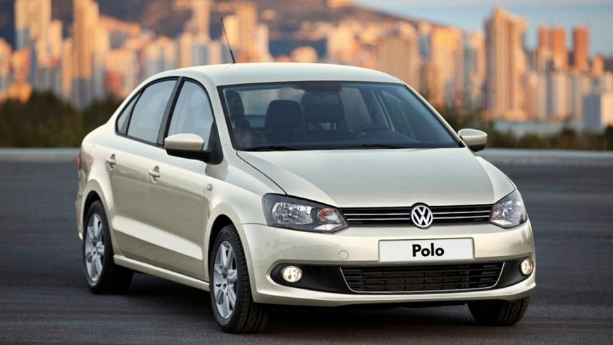 Volkswagen Polo в минимальной комплектации