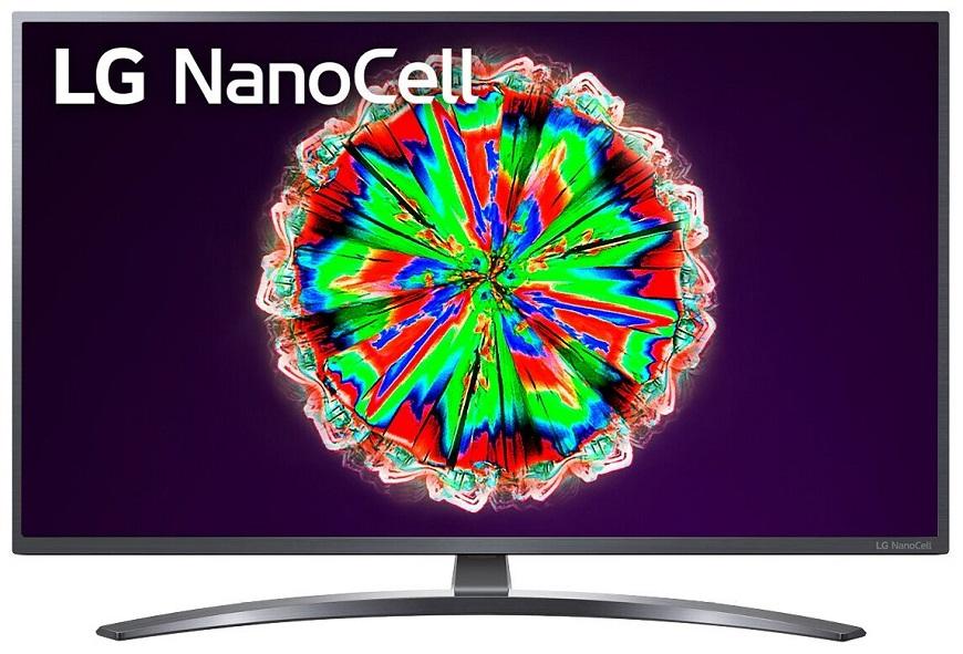 NanoCell LG 50NANO796NF 50 с разрешением 4K UHD и подсветкой Direct LED