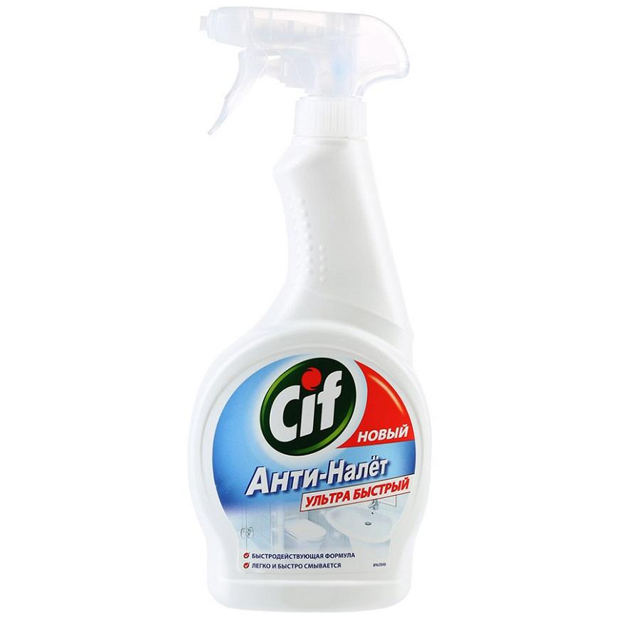 Универсальное средство Cif спрей для ванной Анти-налёт